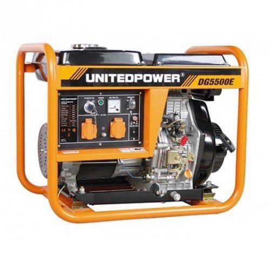 Генератор United Power DG5500E  4,5/5 кВт (Китай)