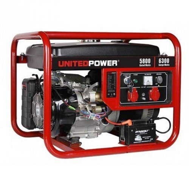 Генератор United Power GG7200E   5,8/6,3 кВт (Китай)