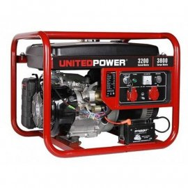 Генератор United Power GG4500E | 3,2/3,8 кВт (Китай)