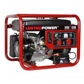 Генератор United Power GG6200Е | 5/5,5 кВт (Китай)