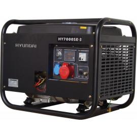 Генератор Hyundai HY 7000 SE 3 | 5/5,5 кВт (Корея)