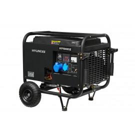 Генератор Hyundai HY 9000 SE | 6/6,6 кВт (Корея)