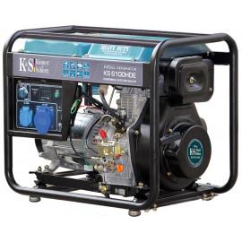 Генератор Konner&Sohnen 6100HDE | 5/5,5 кВт (Германия)