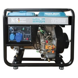 Генератор Konner&Sohnen 8100HDE | 6/6,5 кВт (Німеччина)
