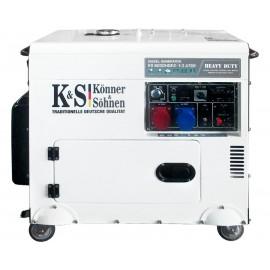Генератор Konner&Sohnen 9200HDES-1/3 ATSR | 5,5/7,5 кВт (Німеччина)