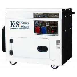 Генератор Konner&Sohnen 9200HDES-1/3 ATSR | 5,5/7,5 кВт (Германия)