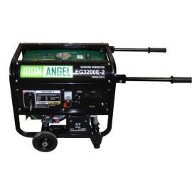Генератор IRON ANGEL EG 3200 E-2 | 2,/3,2 кВт (Нидерланды)