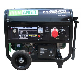 Генератор Iron Angel EG 5500 E3-М   5,2/5,5 кВт (Нидерланды)