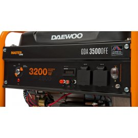Генератор Daewoo GDA 3500 DFЕ | 2,8/3,2 кВт (Корея)