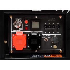 Генератор Daewoo DDAE 9000XE-3 | 6,4/7 кВт (Корея)
