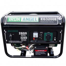 Генератор IRON ANGEL EG 3200 E | 2,/3,2 кВт (Нидерланды)