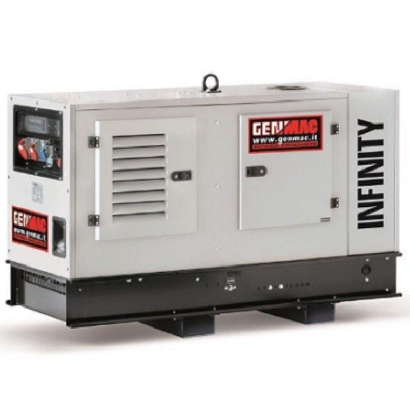 Генератор Genmac Infinity G20PS|16/17.6 кВт, (Италия)