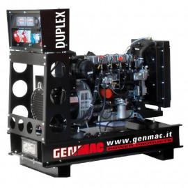 Генератор Genmac Duplex G21KOM-E|15.2/16.8 кВт, (Италия)