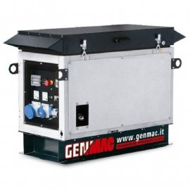 Генератор Genmac Whisper G12000 KSA|8.8 кВт, (Италия)