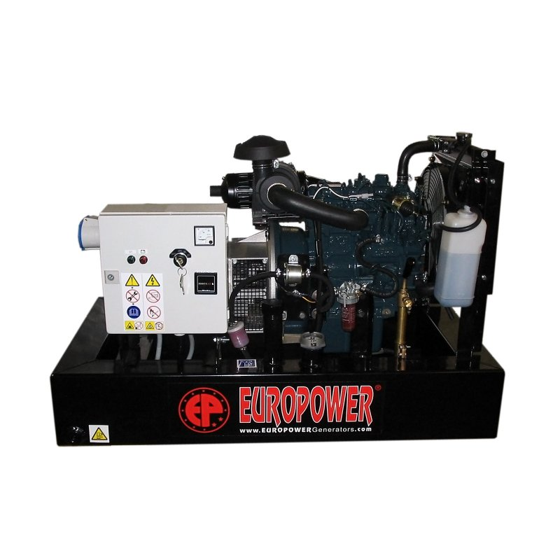 Генератор Europower EP73DE | 6/7 кВт (Бельгия)