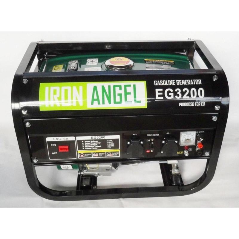 Генератор IRON ANGEL EG 3200 E-1   2,/3,2 кВт (Нидерланды)
