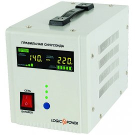 ИБП LogicPower LPY-PSW-500VA | generator.ua | 0.35 кВт Китай