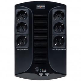 ИБП LogicPower LP 850VA-6PS | generator.ua | 0.51 кВт Китай
