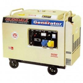 Генератор Glendale DP6500SLE/3 Авт.запуск АКБ I 234/260 кВт, Турция