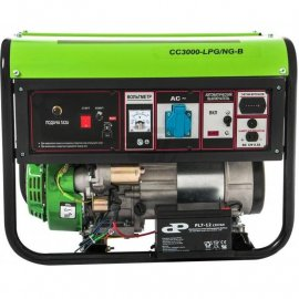 Генератор Greenpower CC3000 LPG/NG-B|2.6/2.8 кВт, (Италия)