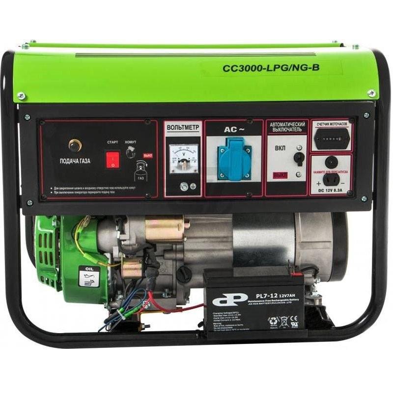 Генератор Greenpower CC3000 LPG/NG-B|2.6/2.8 кВт, (Италия)