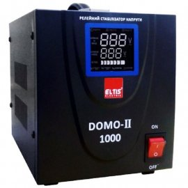 Стабилизатор Элтис DOMO-II-TLD-1000VA LED|1 кВт, (Китай)