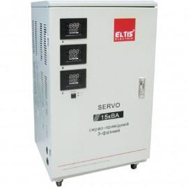 Стабилизатор Элтис SERVO-II-SVC-15000BA LED|15 кВт, (Китай)