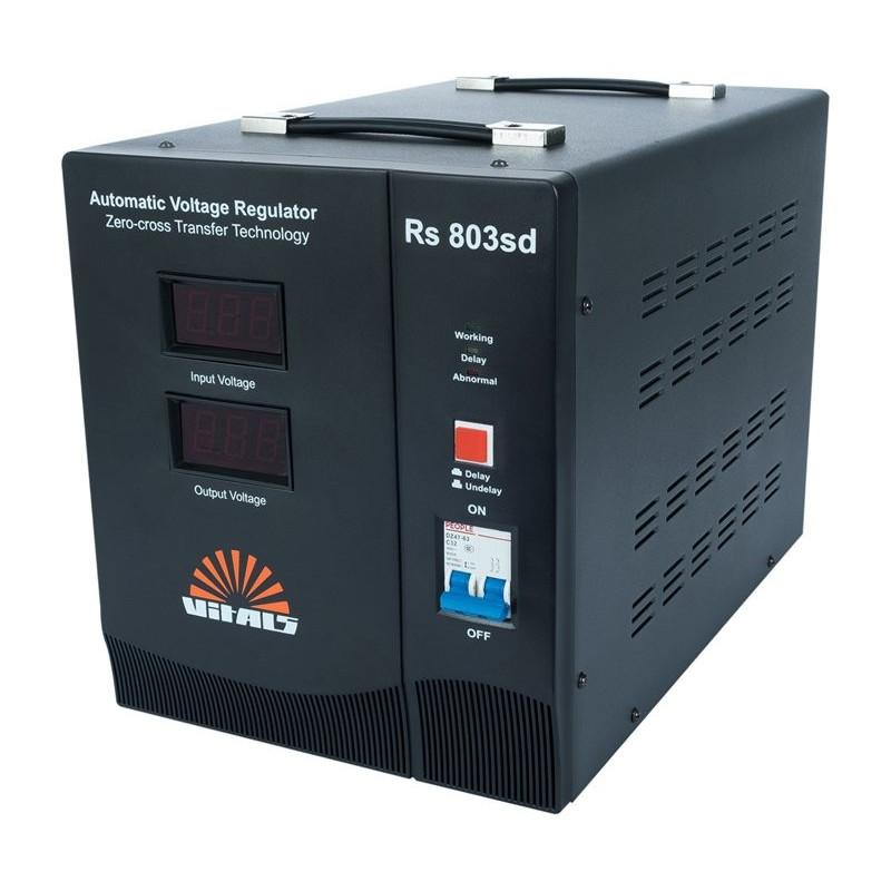 Стабилизатор Vitals Rs 803sd   6.4 кВт, (Латвия)