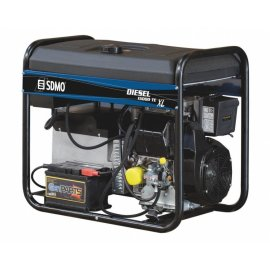 Генератор SDMO Diesel 15000 TE XL C | 10/12,5 кВт (Франция)