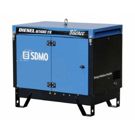 Генератор SDMO Diesel 6500 TE Silence AVR | 5.2/6.5 кВт (Франция)