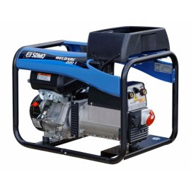 Генератор зварювальний SDMO Weldarc 220 T | 4/4 кВт (Франция)