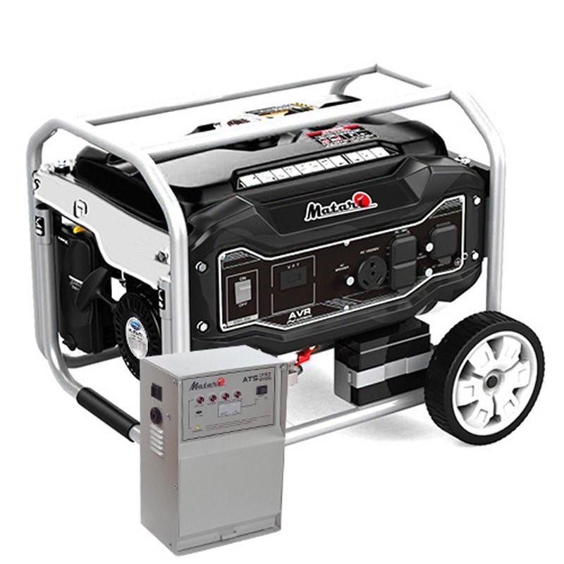 Генератор Matari MX11000EA-ATS | 8/8.5 кВт (Япония)