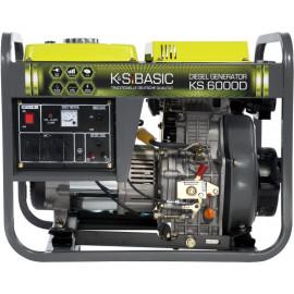 Генератор Konner&Sohnen BASIC 6000D | 5/5,5 кВт (Германия)