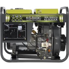 Генератор Konner&Sohnen BASIC 6000DE | 5/5,5 кВт (Германия)