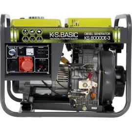 Генератор Konner&Sohnen BASIC 8000DE-3 | 6/6,5 кВт (Германия)