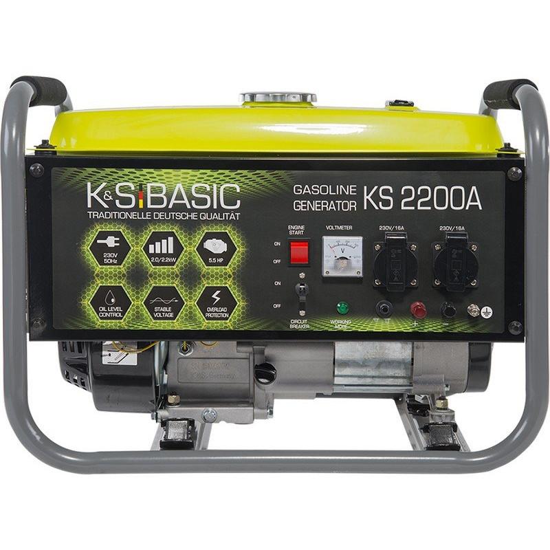 Генератор Konner&Sohnen BASIC KS 2200 A   2/2,2 кВт (Германия)