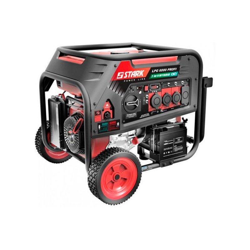 Генератор Stark LPG 6000 Pro | 5,5/6,5 кВт (Германия)