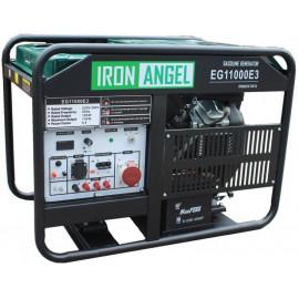 Генератор IRON ANGEL EG 11000 E3 | 10/11 кВт (Нидерланды)
