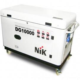 Генератор NiK DG 10000 І ф | 8/10 кВт (США)