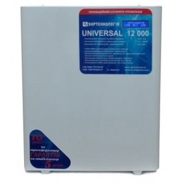 Стабилизатор напряжения Укртехнология НСН - 12000 UNIVERSAL | 12 кВт (Украина)