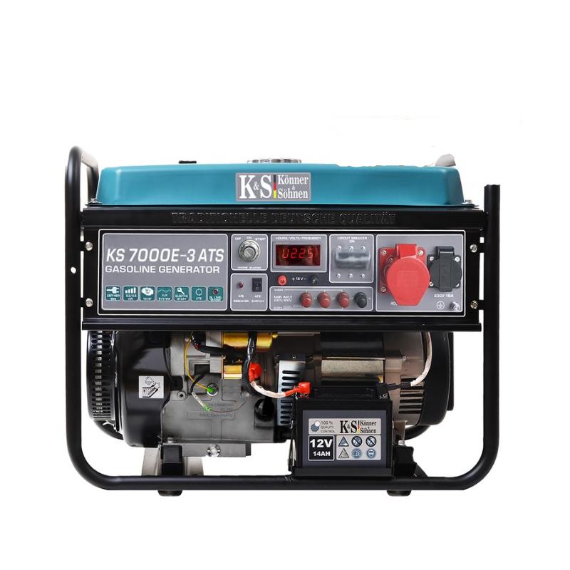 Генератор Konner&Sohnen 7000E-3 ATS | 5/5,5 кВт (Германия)