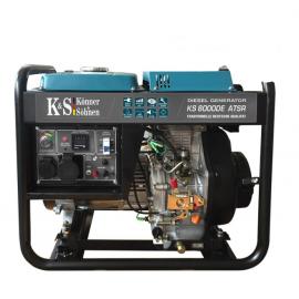 Генератор Konner&Sohnen 8000DE ATSR | 6/6,5 кВт (Германия)