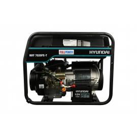 Генератор Hyundai HHY 7020FE-T | 5/5,5 кВт (Корея)