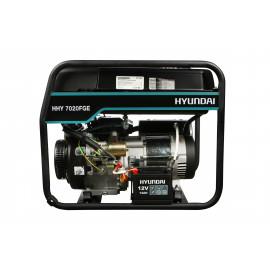 Генератор Hyundai HHY 7020FGE | 5/5,5 кВт (Корея)
