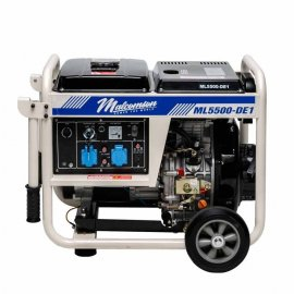 Генератор Malcomson ML5500‐DE1 | 4,5/5 кВт (Великобританія)