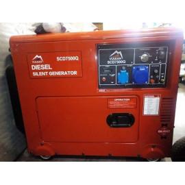 Генератор Vulkan SC7500Q | 5,5/6 кВт (Китай)
