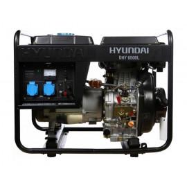 Генератор Hyundai DHY 6500L | 5/5,5 кВт (Корея)