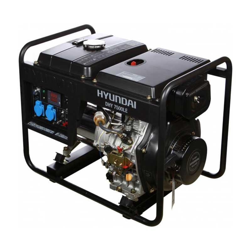 Генератор Hyundai DHY7500le | 5,5/6 кВт (Корея)