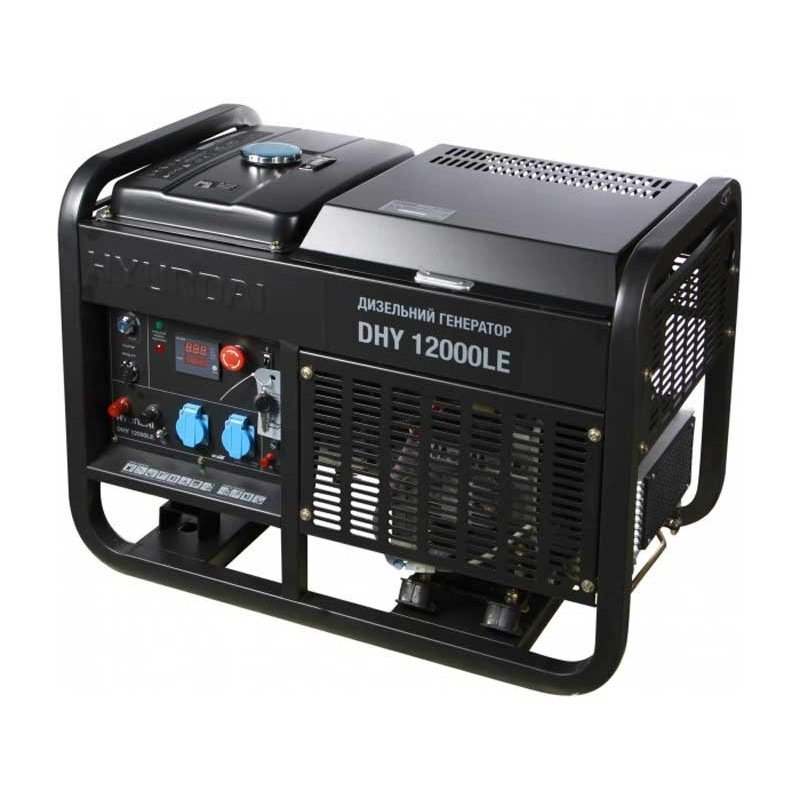 Генератор Hyundai DHY 12000le | 10/11 кВт (Корея)