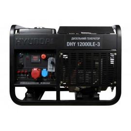 Генератор Hyundai DHY 12000LE-3 | 10/11 кВт (Корея)